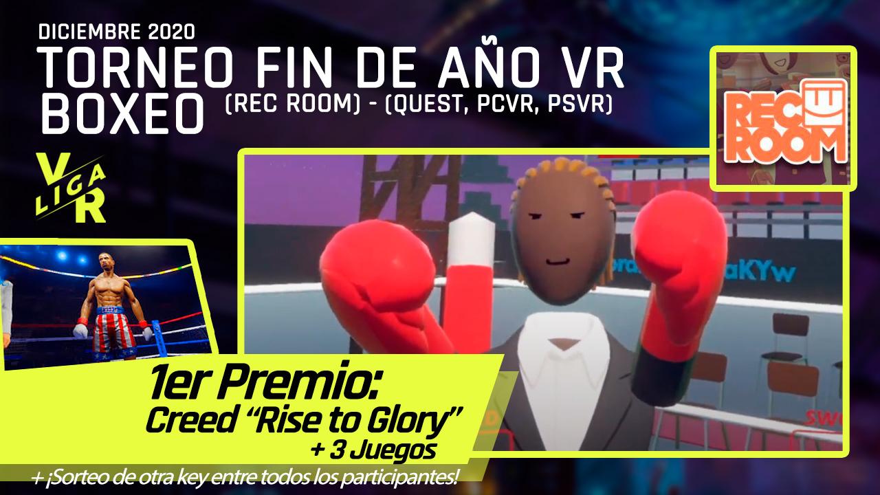 Torneo VR Fin de Año 2020 Rec Room Boxeo